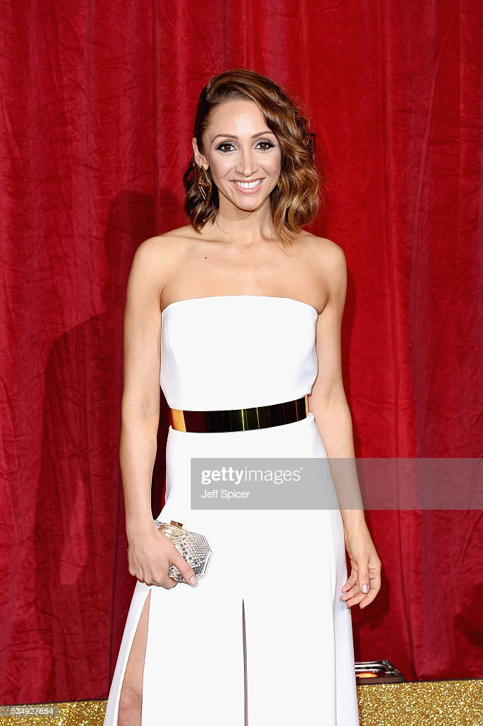 <a gi-track='captionPersonalityLinkClicked' href=/galleries/search?phrase=Lucy-Jo+Hudson&family=editorial&specificpeople=2465342 ng-click='$event.stopPropagation()'>Lucy-Jo Hudson</a> attends the British Soap Awards 2016 at Hackney Empire on May 28, 2016 in London, England.