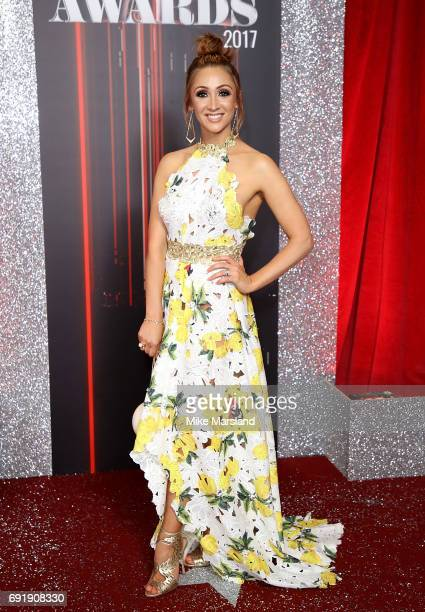 LucyJo Hudson attends The British Soap Awards at The Lowry Theatre on June 3 2017 in Manchester England The Soap Awards will be aired on June 6 on...