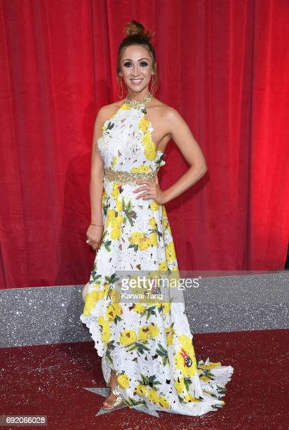 LucyJo Hudson attends the British Soap Awards at The Lowry Theatre on June 3 2017 in Manchester England