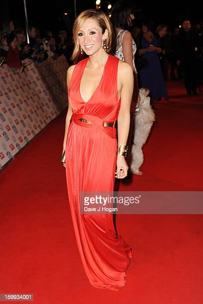 LucyJo Hudson attends the National Television Awards 2013 at The O2 Arena on January 23 2013 in London England