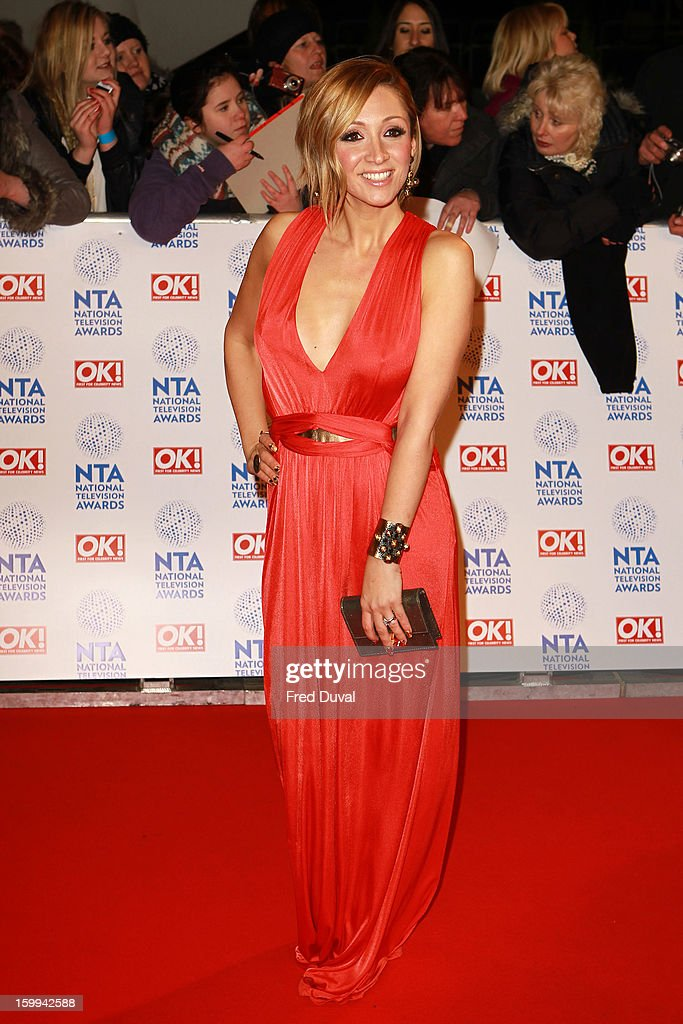 Lucy-Jo Hudson attends the National Television Awards at 02 Arena on January 23, 2013 in London, England.