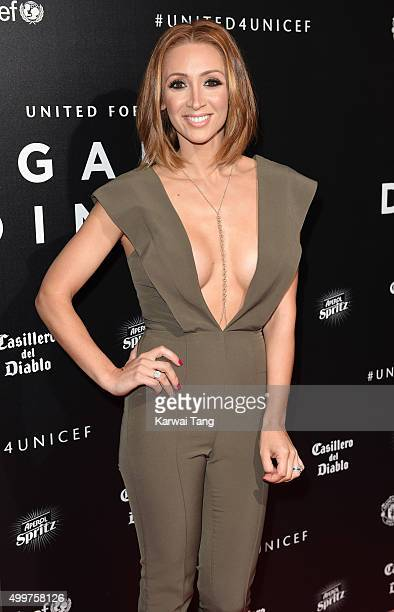 LucyJo Hudson attends the United for UNICEF Gala Dinner at Old Trafford on November 29 2015 in Manchester England