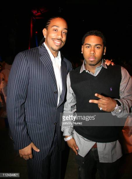 Ludacris and Bobby V during The Ludacris Foundation's 3rd Annual Benefit at The Freight Room in Atlanta New York United States
