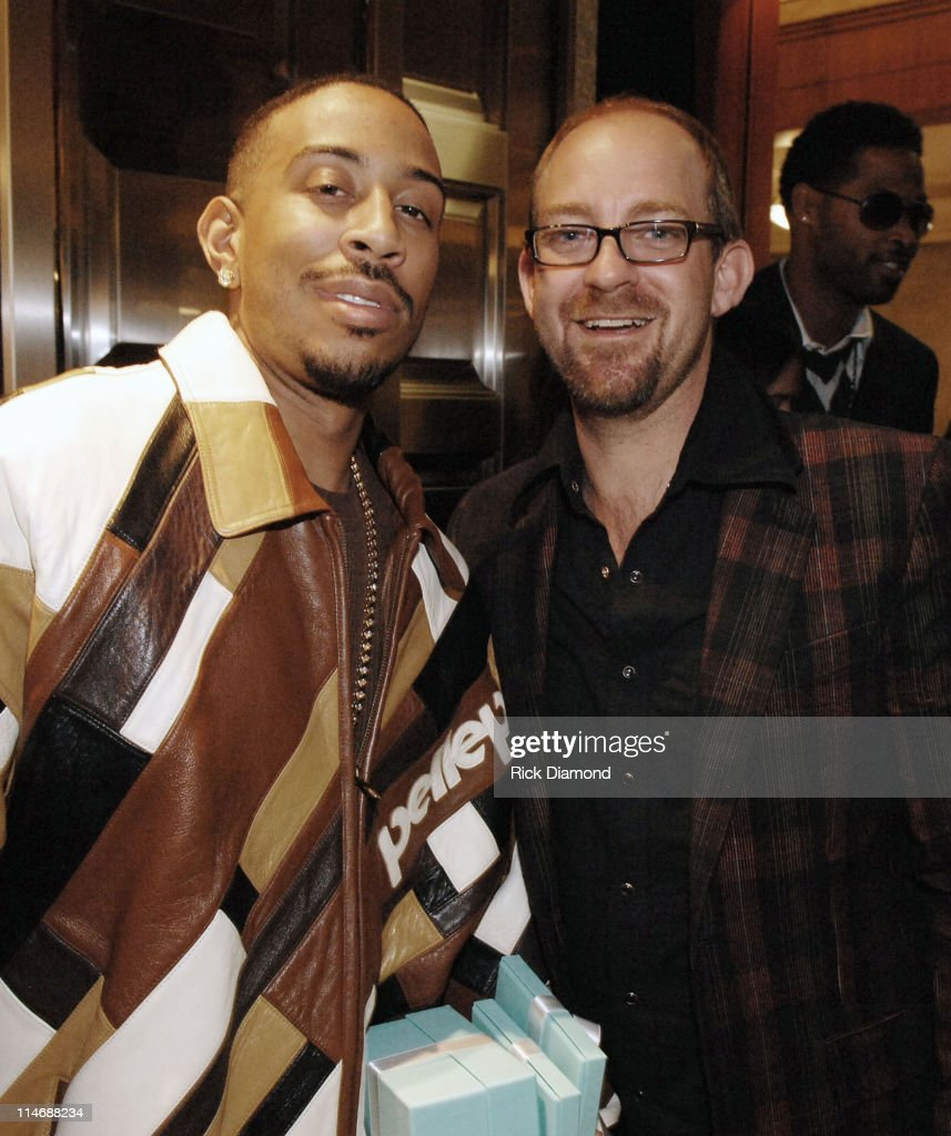 Ludacris and Kristian Bush of the band Sugarland during Georgia GRAMMY Nominees Honored by the Recording Academy and Tiffany Co at Tiffany Co in...