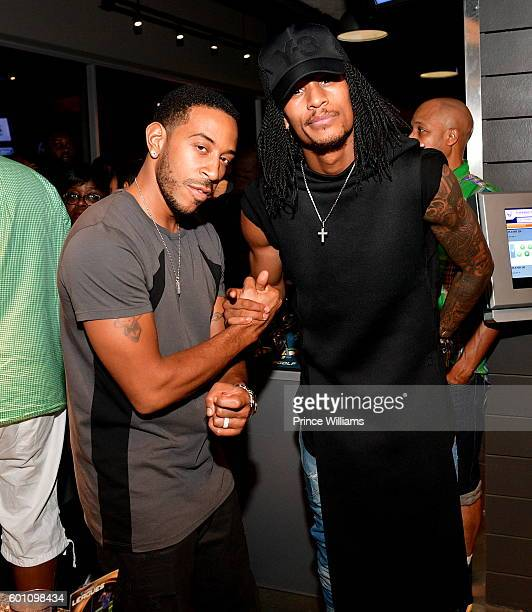 Ludacris and Laurent Bourgeois attend LudaDay Weekend TopGolf Takeover at TopGolf on September 4 2016 in Atlanta Georgia