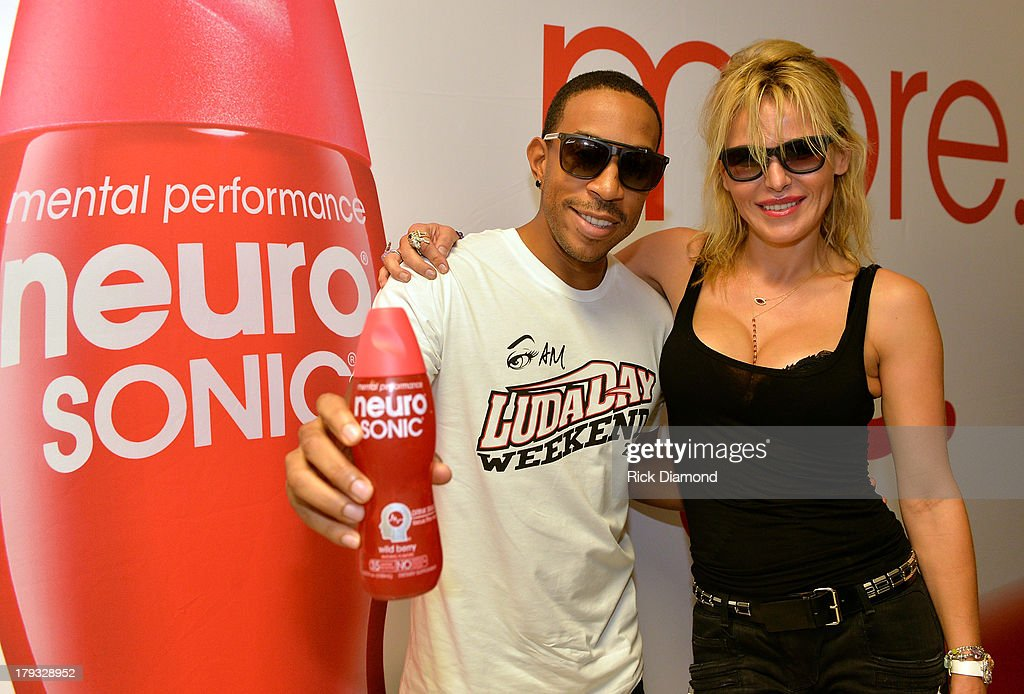 <a gi-track='captionPersonalityLinkClicked' href=/galleries/search?phrase=Ludacris&family=editorial&specificpeople=203034 ng-click='$event.stopPropagation()'>Ludacris</a> and Neuro Sonic Chairperson, CEO and Founder <a gi-track='captionPersonalityLinkClicked' href=/galleries/search?phrase=Diana+Jenkins&family=editorial&specificpeople=776750 ng-click='$event.stopPropagation()'>Diana Jenkins</a>, during Neuro Drinks At LudaDay Weekend Celebrity Basketball Game at GSU Sports Arena on September 1, 2013 in Atlanta, Georgia.
