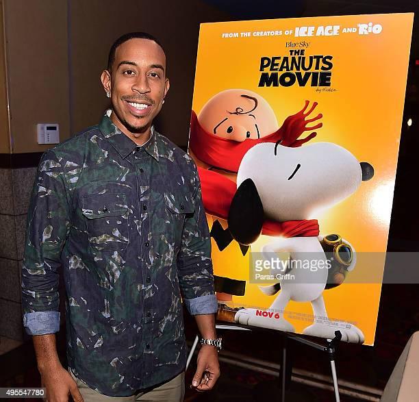 Ludacris attends 20th Century Fox's 'The Peanuts Movie' VIP Red Carpet Screening on November 3 2015 in Atlanta Georgia