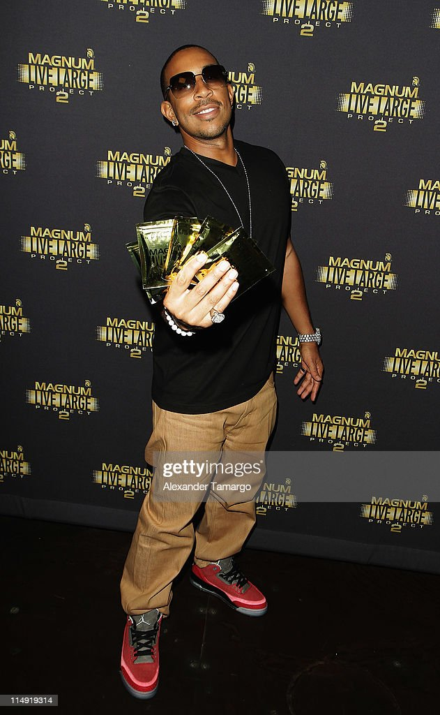 <a gi-track='captionPersonalityLinkClicked' href=/galleries/search?phrase=Ludacris&family=editorial&specificpeople=203034 ng-click='$event.stopPropagation()'>Ludacris</a> attends Magnum Condoms & <a gi-track='captionPersonalityLinkClicked' href=/galleries/search?phrase=Ludacris&family=editorial&specificpeople=203034 ng-click='$event.stopPropagation()'>Ludacris</a> Wrap Up The Magnum Live Large Project 2 In Miami at Cameo nightclub on May 28, 2011 in Miami Beach, Florida.