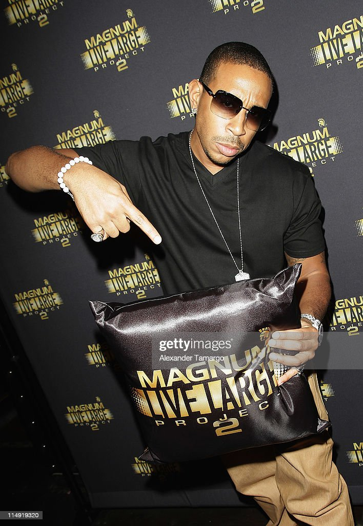 Ludacris attends Magnum Condoms & Ludacris Wrap Up The Magnum Live Large Project 2 In Miami at Cameo nightclub on May 28, 2011 in Miami Beach, Florida.