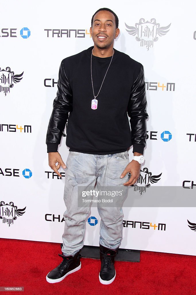 <a gi-track='captionPersonalityLinkClicked' href=/galleries/search?phrase=Ludacris&family=editorial&specificpeople=203034 ng-click='$event.stopPropagation()'>Ludacris</a> attends the 2nd Annual Will.i.am TRANS4M Boyle Heights benefit concert held at Avalon on February 7, 2013 in Hollywood, California.