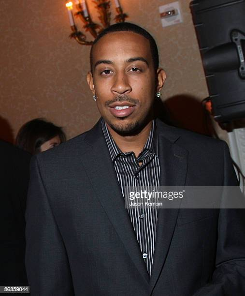 Ludacris attends the PEOPLE and TIME cocktail party on eve of White House Correspondent�s Dinner at St Regis Hotel Astor Terrace on May 8 2009 in...