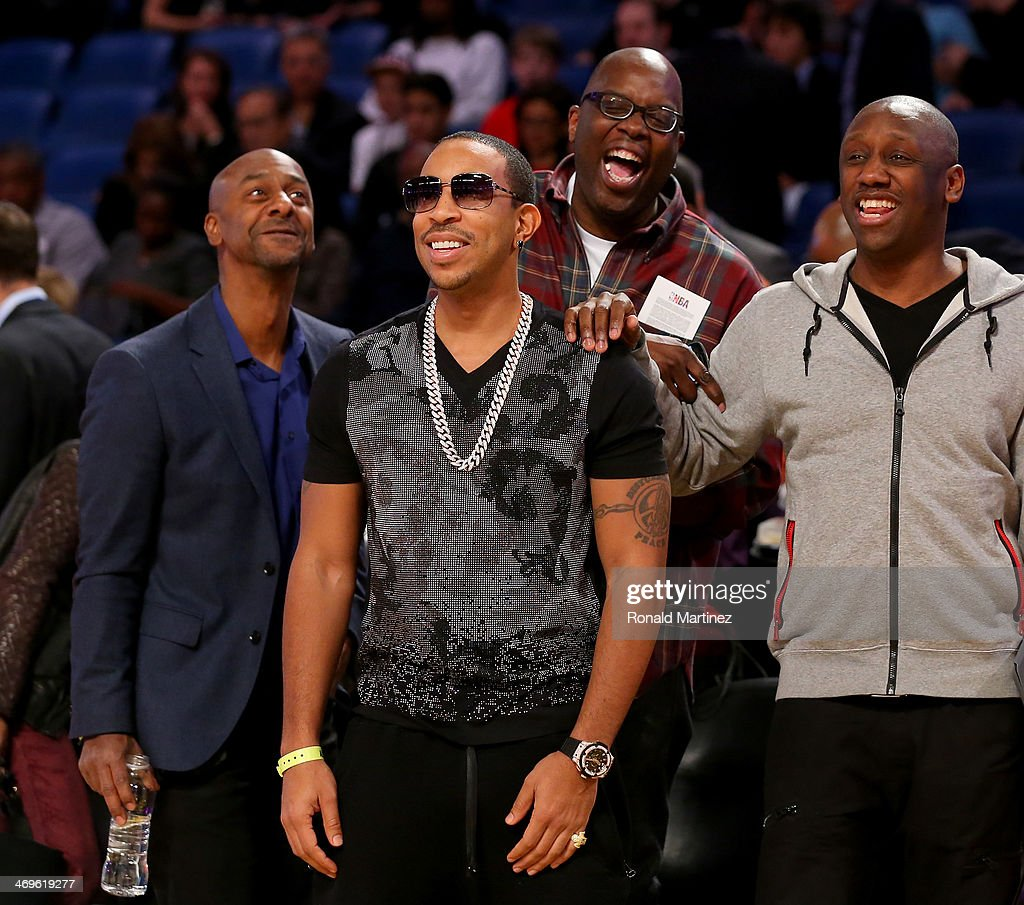 Ludacris attends the Sears Shooting Stars Competition 2014 as part of the 2014 NBA All-Star Weekend at the Smoothie King Center on February 15, 2014 in New Orleans, Louisiana.