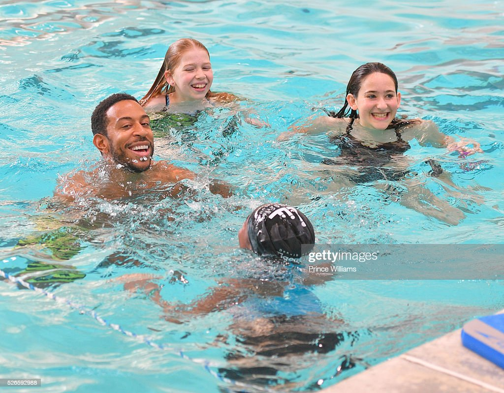 <a gi-track='captionPersonalityLinkClicked' href=/galleries/search?phrase=Ludacris&family=editorial&specificpeople=203034 ng-click='$event.stopPropagation()'>Ludacris</a> attends water safety and fitness at Carrie Steele Pitts Life Learning Center on April 30, 2016 in Atlanta, Georgia.