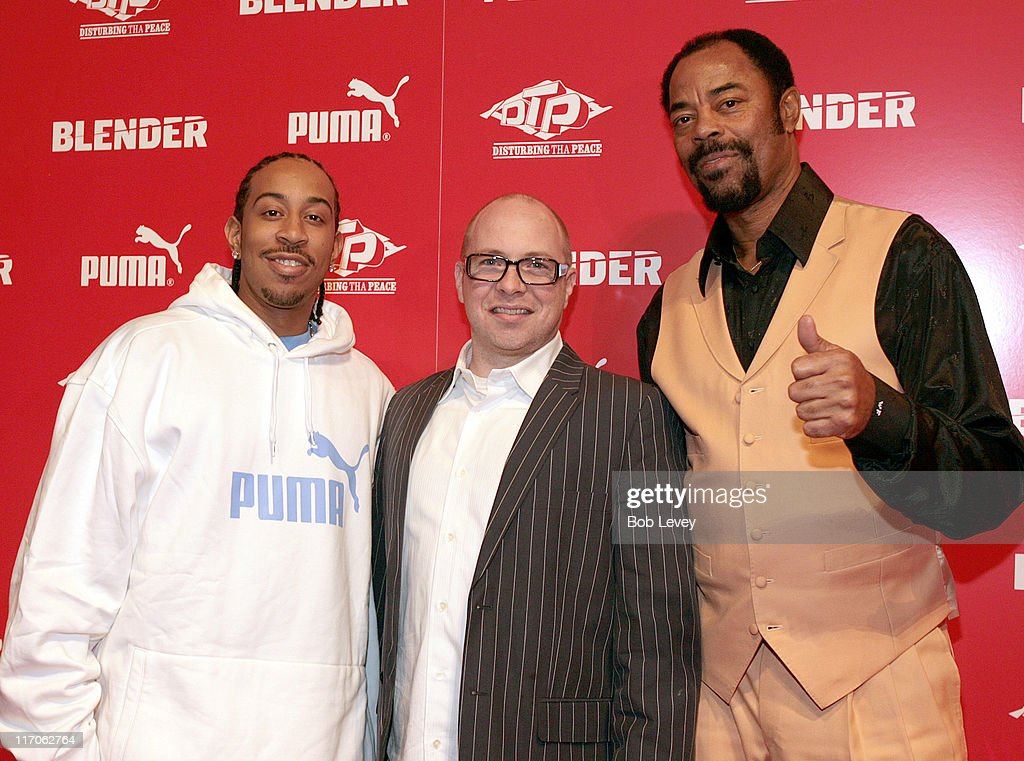 Ludacris Barney Waters PUMA VP of marketing and Walt 'Clyde' Frazier