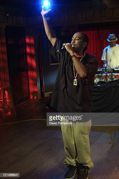 Ludacris during Ludacris Performs Appears on 'Sessions @ AOL' November 17 2004 at Avatar Studios in New York City New York United States