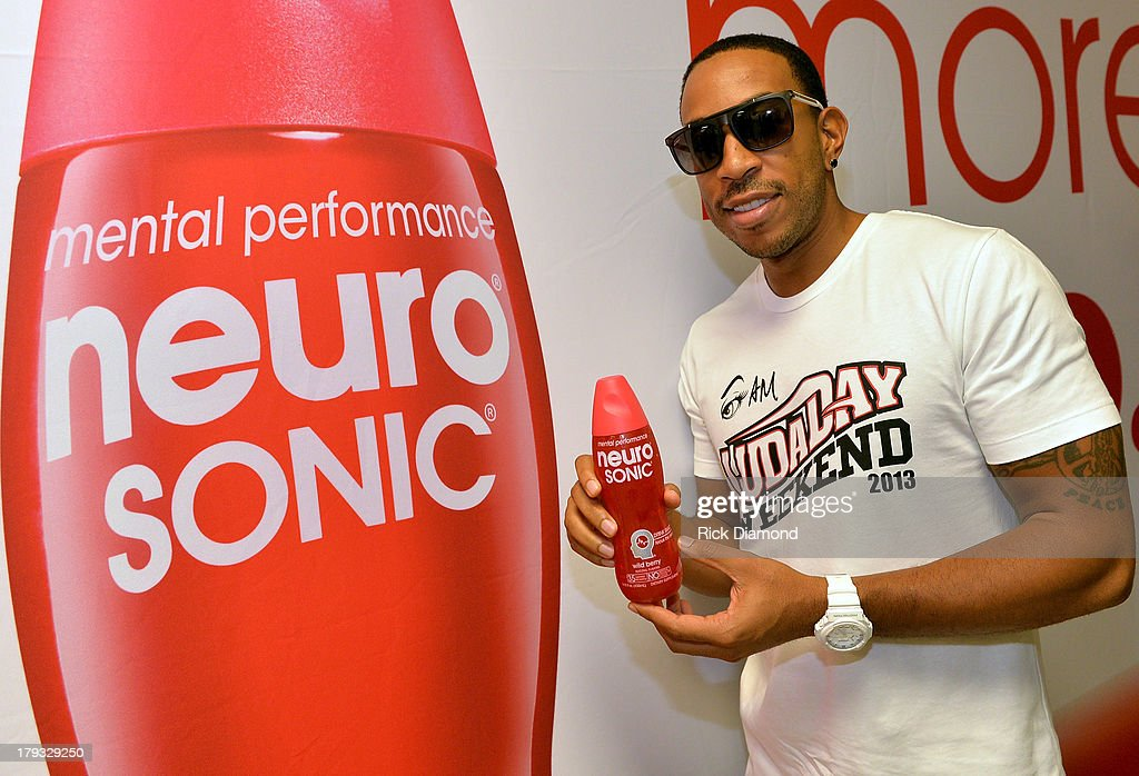 <a gi-track='captionPersonalityLinkClicked' href=/galleries/search?phrase=Ludacris&family=editorial&specificpeople=203034 ng-click='$event.stopPropagation()'>Ludacris</a> during Neuro Drinks At LudaDay Weekend Celebrity Basketball Game at GSU Sports Arena on September 1, 2013 in Atlanta, Georgia.