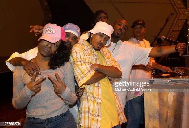 Ludacris during rehearsals for the 2004 BET Awards at the Kodak Theatre in Hollywood California June 28 2004