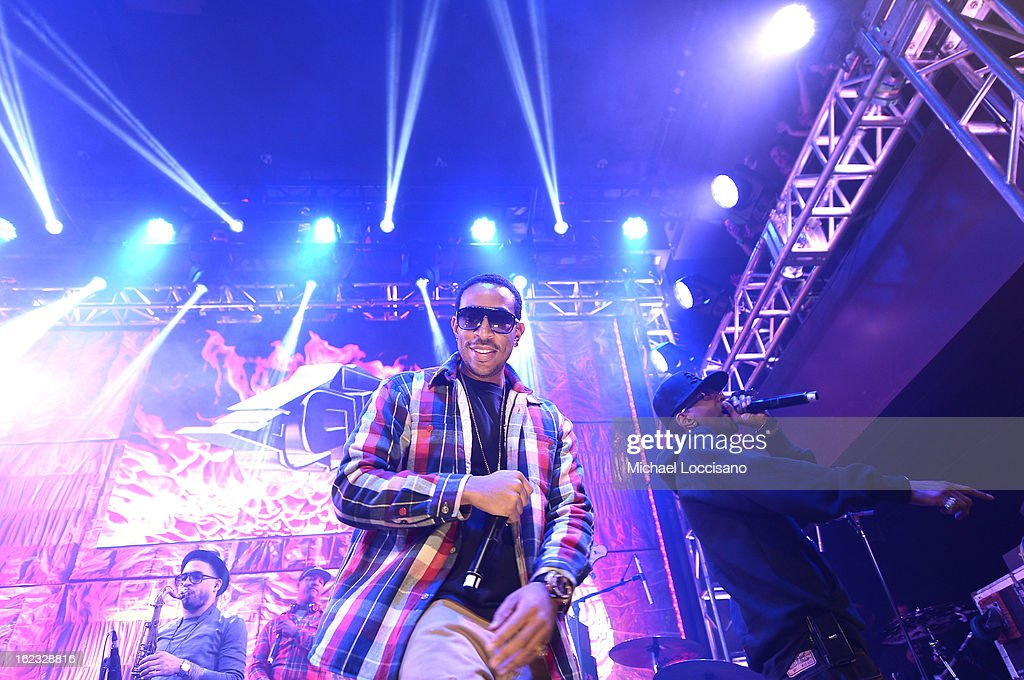 <a gi-track='captionPersonalityLinkClicked' href=/galleries/search?phrase=Ludacris&family=editorial&specificpeople=203034 ng-click='$event.stopPropagation()'>Ludacris</a> performs at The New Billboard Launch Event at Stage 48 on February 21, 2013 in New York City.