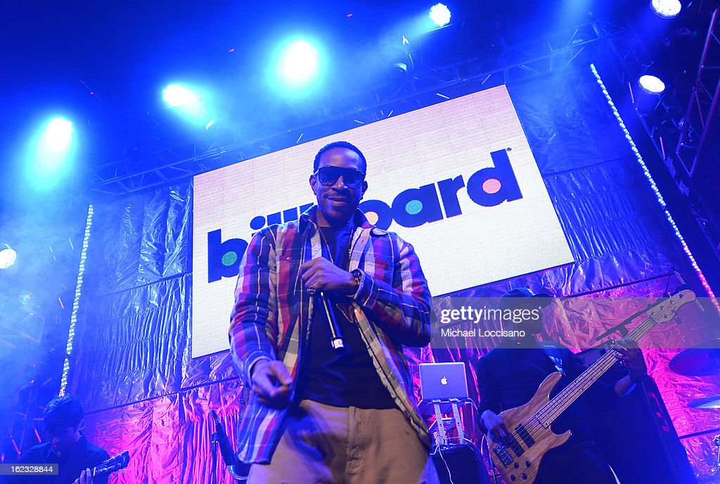 Ludacris performs at The New Billboard Launch Event at Stage 48 on February 21, 2013 in New York City.