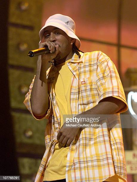 Ludacris performs during rehearsals for the 2004 BET Awards at the Kodak Theatre in Hollywood California June 28 2004