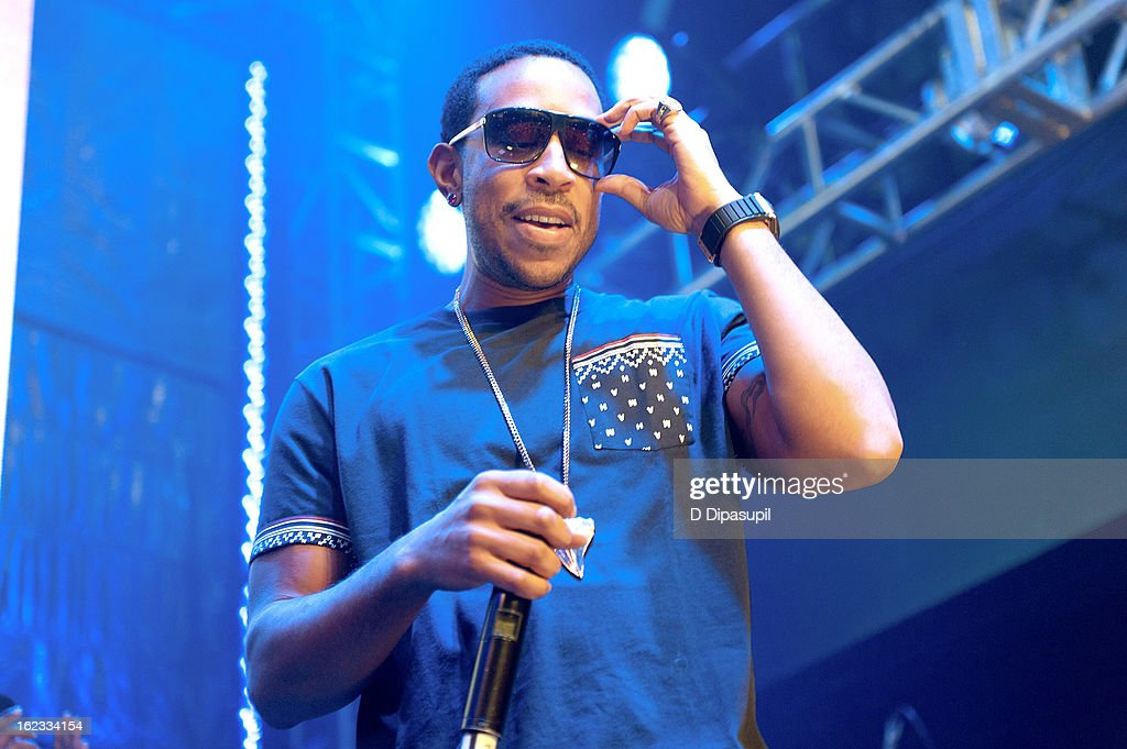 Ludacris performs on stage during The New Billboard 2013 launch event at Stage 48 on February 21, 2013 in New York City.