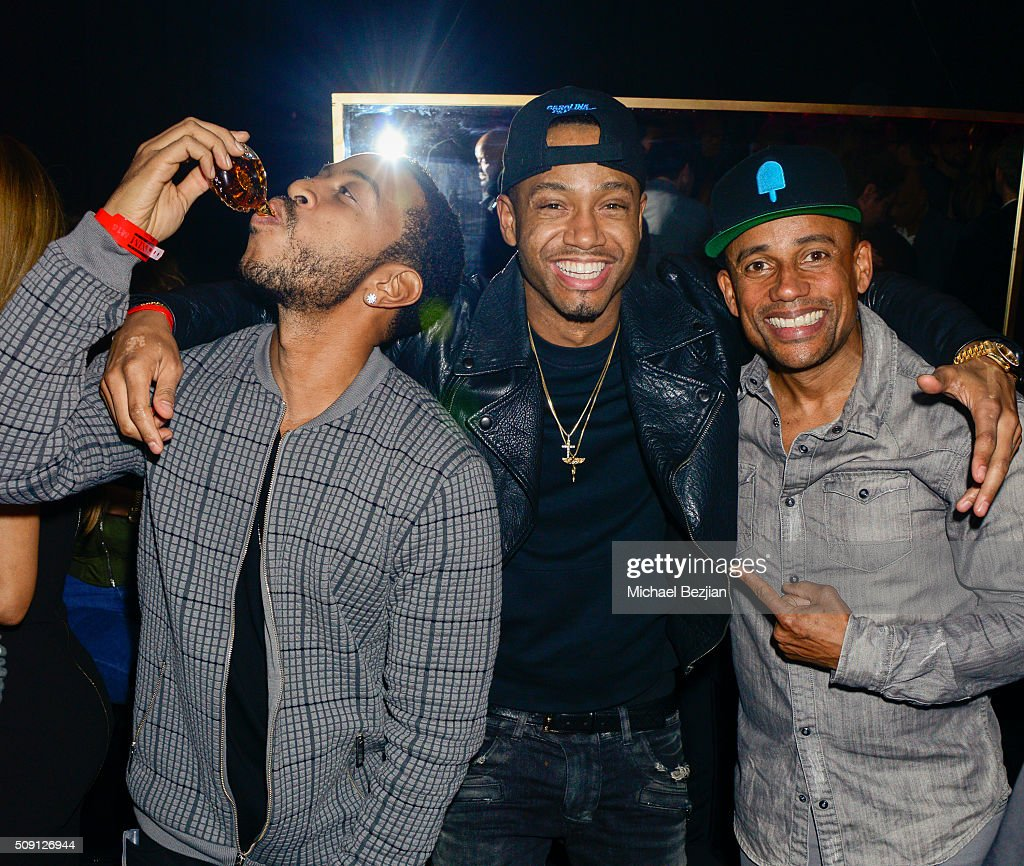 Ludacris Terrence J and Hill Harper attend at Treasure Island on February 6 2016 in San Francisco California