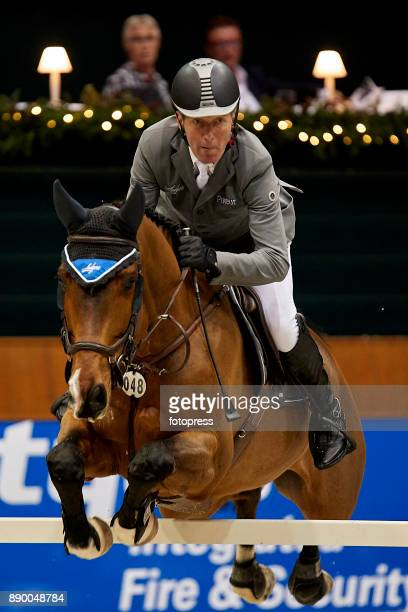 Ludger Beerbaum attends during CSI Casas Novas Horse Jumping Competition on December 10 2017 in A Coruna Spain