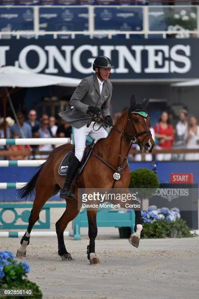 Ludger Beerbaum of Germany riding Chacon 2 during the Longines Grand Prix Athina Onassis Horse Show on June 3 2017 in St Tropez France