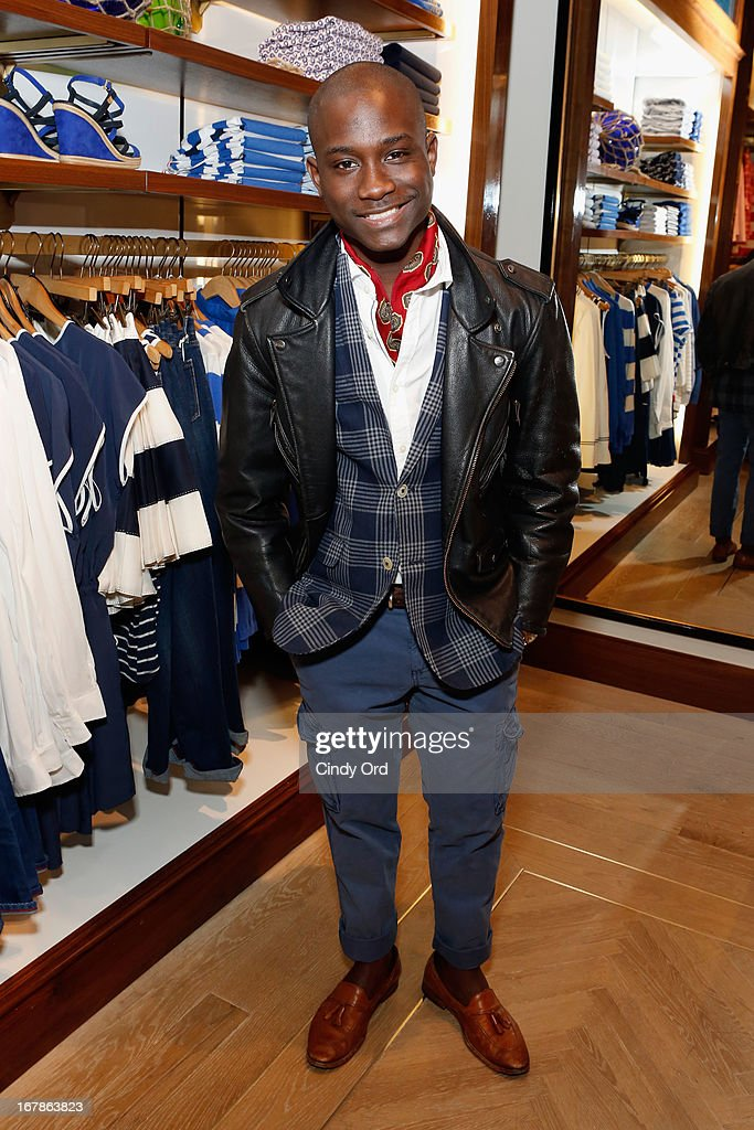 Ludget Delcy attends Tommy Hilfiger celebrates redesigned Soho store with event for Fresh Air Fund on May 1, 2013 in New York City.