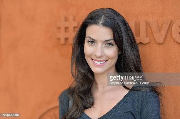 Ludivine Sagna attends day six of the 2016 French Open at Roland Garros on May 27 2016 in Paris France