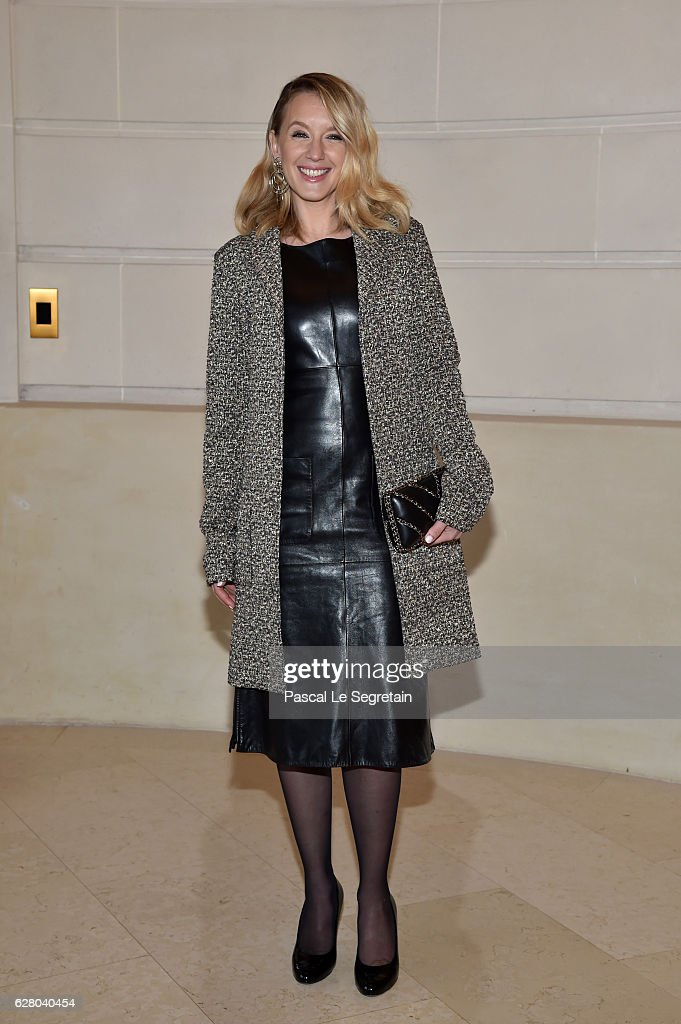 Ludivine Sagnier attends 'Chanel Collection des Metiers d'Art 2016/17 : Paris Cosmopolite' Show on December 6, 2016 in Paris, France.