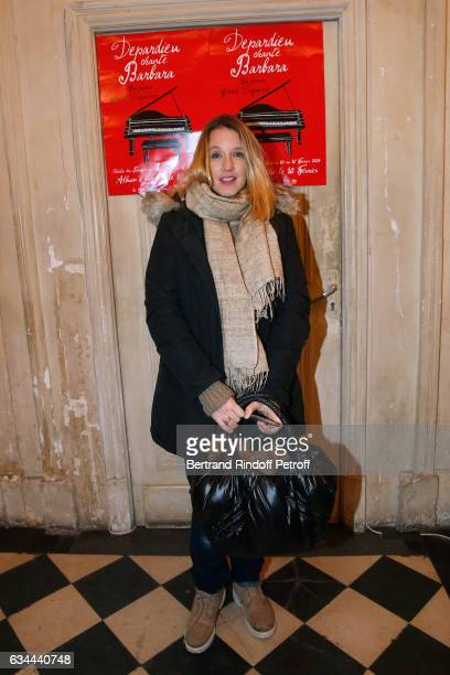 Ludivine Sagnier attends Gerard Depardieu sings Barbara accompanied on the piano of Barbara by Gerard Daguere who was his Pianist for more than 15...