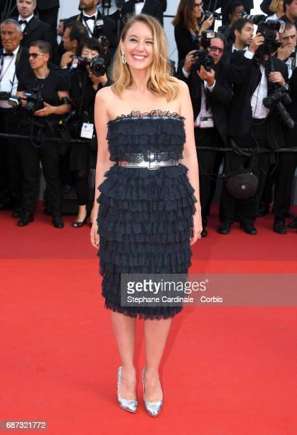 Ludivine Sagnier attends the 70th Anniversary of the 70th annual Cannes Film Festival at Palais des Festivals on May 23 2017 in Cannes France