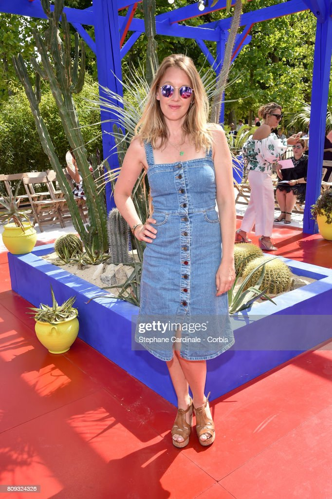 Ludivine Sagnier attends the Bonpoint Haute Couture Fall/Winter 2017-2018 show as part of Haute Couture Paris Fashion Week on July 5, 2017 in Paris, France.