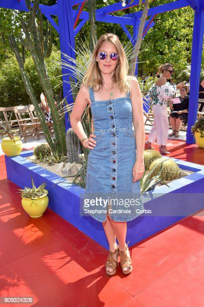 Ludivine Sagnier attends the Bonpoint Haute Couture Fall/Winter 20172018 show as part of Haute Couture Paris Fashion Week on July 5 2017 in Paris...