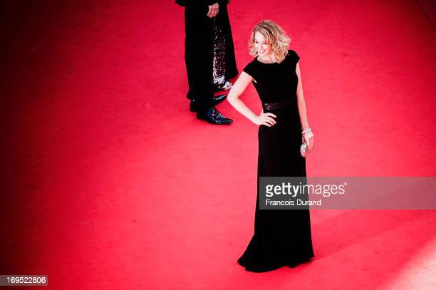 Ludivine Sagnier attends the 'Zulu' Premiere and Closing Ceremony during the 66th Annual Cannes Film Festival at the Palais des Festivals on May 26...