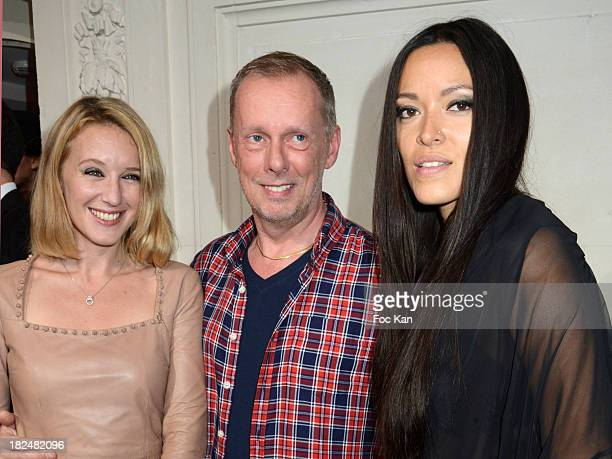 Ludivine Sagnier Bill Gaytten and Mei Lan attend the John Galliano show as part of the Paris Fashion Week Womenswear Spring/Summer 2014 at the Hotel...