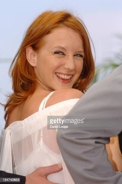 Ludivine Sagnier during 2006 Cannes Film Festival 'La Californie' Photocall at Palais des Festival Terrace in Cannes France