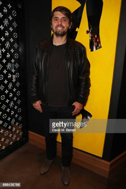 Ludo Lefebvre attends the launch of new restaurant 'Red Rooster' at The Curtain on May 25 2017 in London England