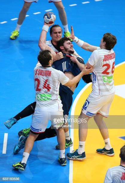 Ludovic Fabregas of France in action during the 25th IHF Men's World Championship 2017 Final between France and Norway at Accorhotels Arena on...