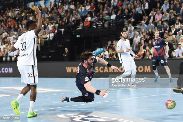 Ludovic Fabregas of Montpellier during the Starligue Lidl match between Montpellier and Paris Saint Germain PSG on April 13 2017 in Montpellier France