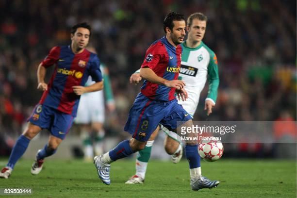 Ludovic GIULY Fc Barcelone / Werder Breme Phase de poules Champion League 2006/2007