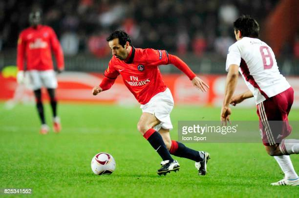 Ludovic GIULY Paris Saint Germain / Benfica 1/8 Finale retour Europa League