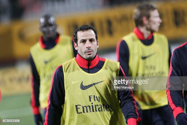 Ludovic GIULY Nancy / PSG 19eme journee de Ligue 1