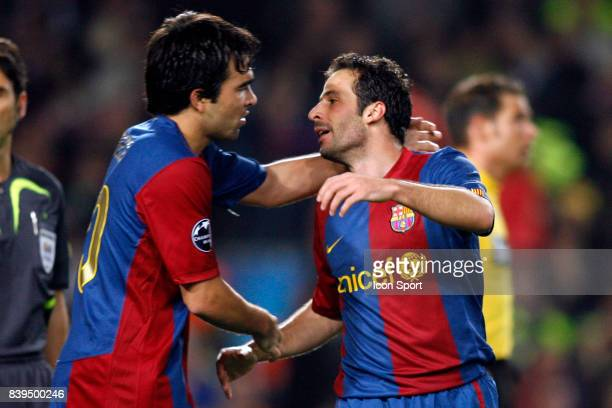 DECO / Ludovic GIULY Fc Barcelone / Werder Breme Champion League