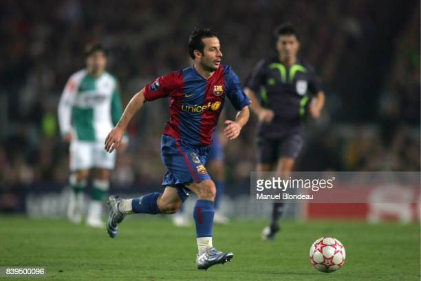 Ludovic GIULY Fc Barcelone / Werder Breme Phase de poules Champion League 2006/2007