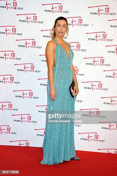 Ludovica Frasca attends a red carpet for ' Immaturi' during the Roma Fiction Fest on December 11 2016 in Rome Italy
