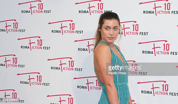 Ludovica Frasca attends a red carpet for 'Immaturi La Serie' during the Roma Fiction Fest 2016