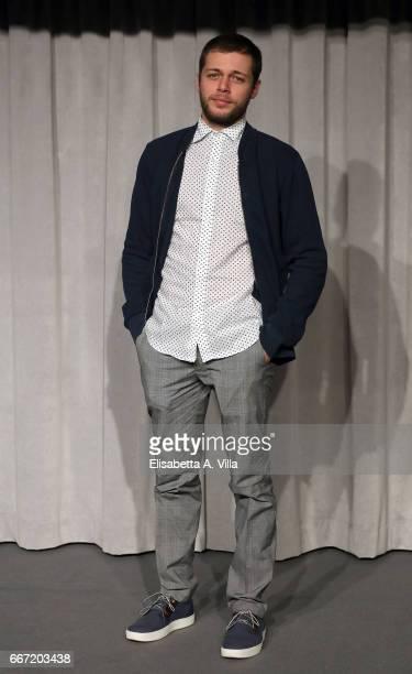 Ludovico Tersigni attends a photocall for 'Tutto Puo' Succedere' at Rai Via Asiago on April 11 2017 in Rome Italy