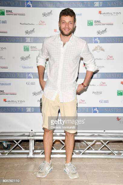 Ludovico Tersigni attends Nastri D'Argento 2017 Press Conference on July 1 2017 in Taormina Italy